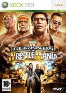 WWE Legends Of Wrestlemania Xbox360