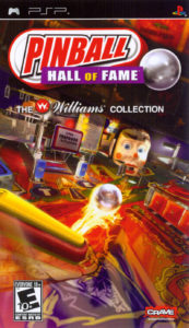 Pinball Hall Of Fame PSP