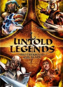 Untold Legends Brotherhood of the Blade PSP