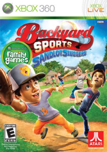Sports Sandlot Sluggers Backyard Xbox360