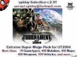 UT2004 spidey Selection v.2.01 for Torrent
