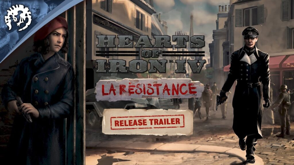 Hearts of Iron IV La Resistance download torrent RePack from xatab 1