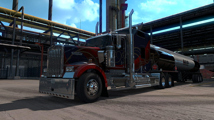 American Truck Simulator download torrent RePack from xatab 4