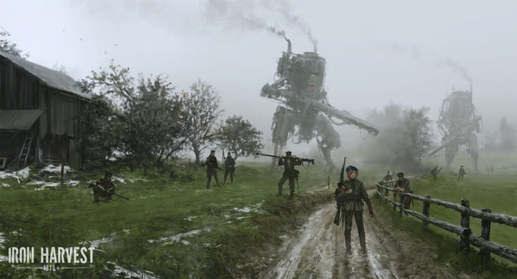 Iron Harvest download torrent RePack from xatab 4