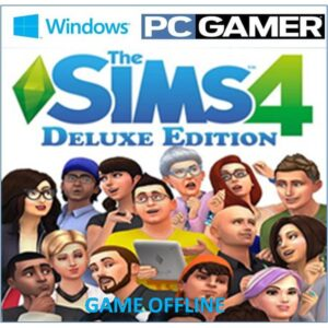 The Sims 4 Deluxe Edition download torrent RePack from xatab