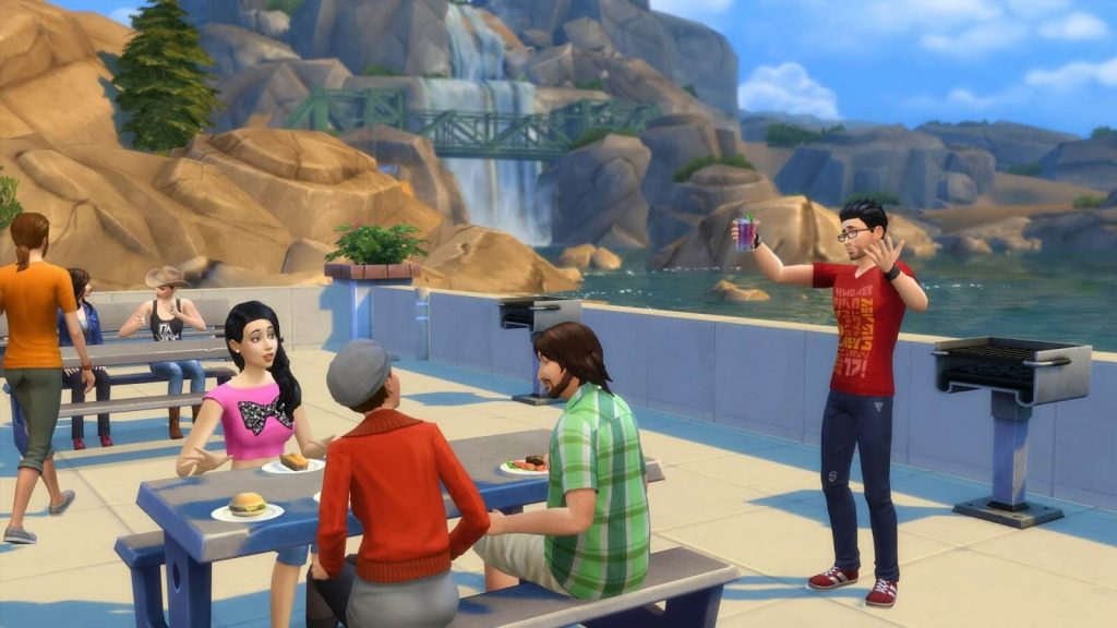 The Sims 4 Deluxe Edition download torrent RePack from xatab 4