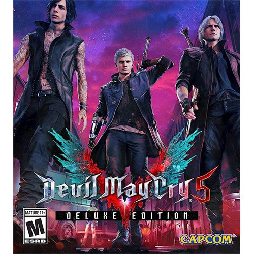Devil May Cry 5 - Deluxe Edition torrent download RePack from xatab