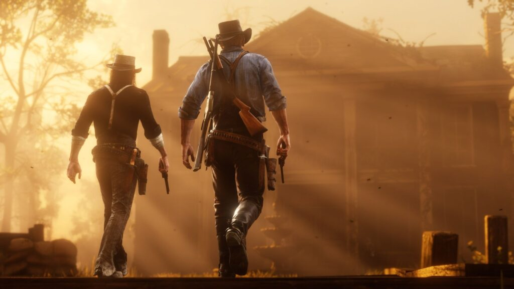 Red Dead Redemption 2 Ultimate Edition torrent download RePack from xatab 1